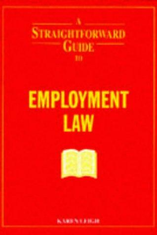 Download A Straightforward Guide to Employment Law (Straightforward Guides)