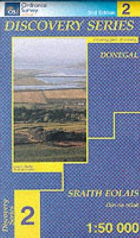 Donegal (North Central) (Irish Discovery Maps Series)