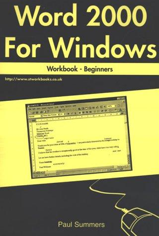 Word 2000 for Windows Workbook