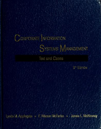 Corporate information systems management