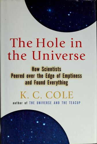 The hole in the universe