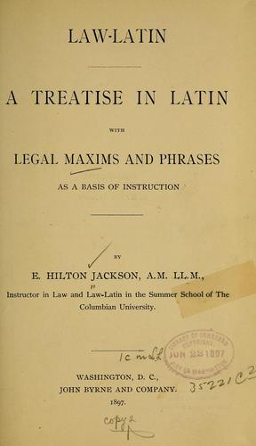 Law-Latin