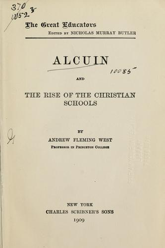 Download Alcuin and the rise of the Christian schools
