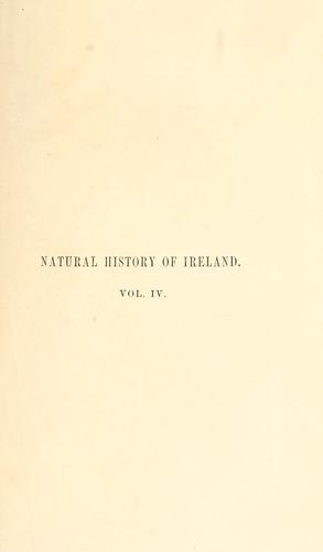 Download The natural history of Ireland.