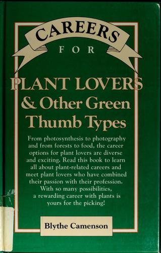 Download Careers for plant lovers & other green thumb types