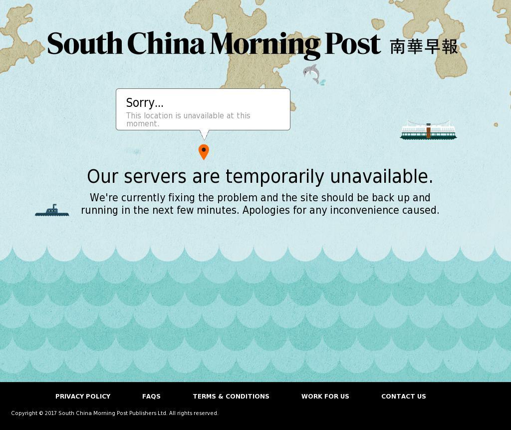 South China Morning Post at Friday Sept. 15, 2017, 6:18 a.m. UTC