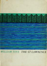 Cover of: The St. Lawrence by William Toye