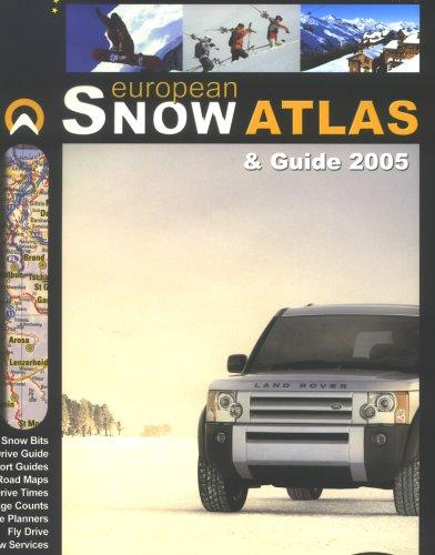 European Snow Atlas & Guide 2005 by Tony Brown