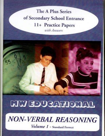 Non-verbal Reasoning ('A' Plus)