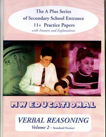 Verbal Reasoning ('A' Plus)