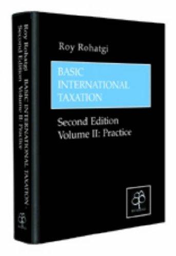 Basic International Taxation by Roy Rohatgi