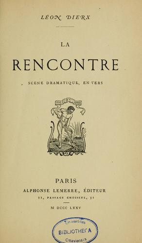 La rencontre by Léon Dierx