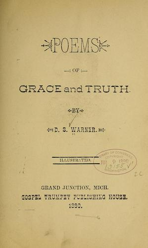 Poems of grace and truth by D. S. Warner